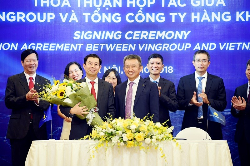 Vietnam Airlines - Vingroup ky thoa thuan hop tac-Hinh-2