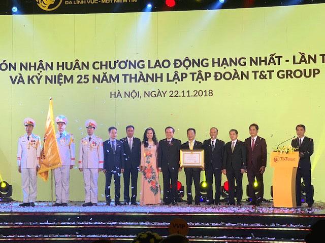 T&T Group don nhan huan chuong lao dong hang nhat lan thu 2