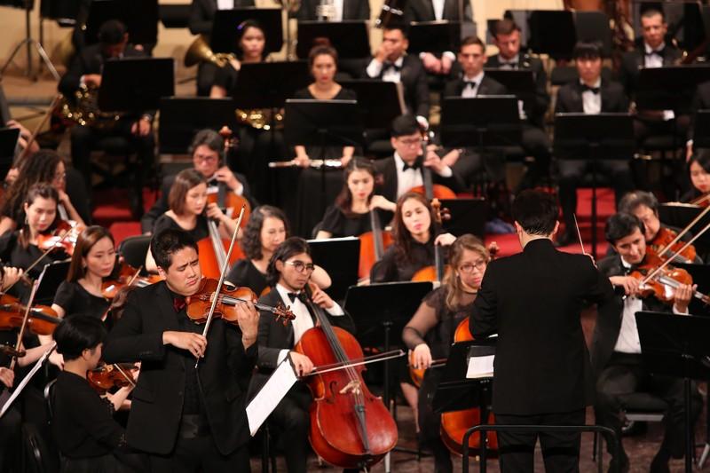 Dan nhac Giao huong Mat Troi se co buoi hoa nhac cung nghe sy violon Nhat Ban