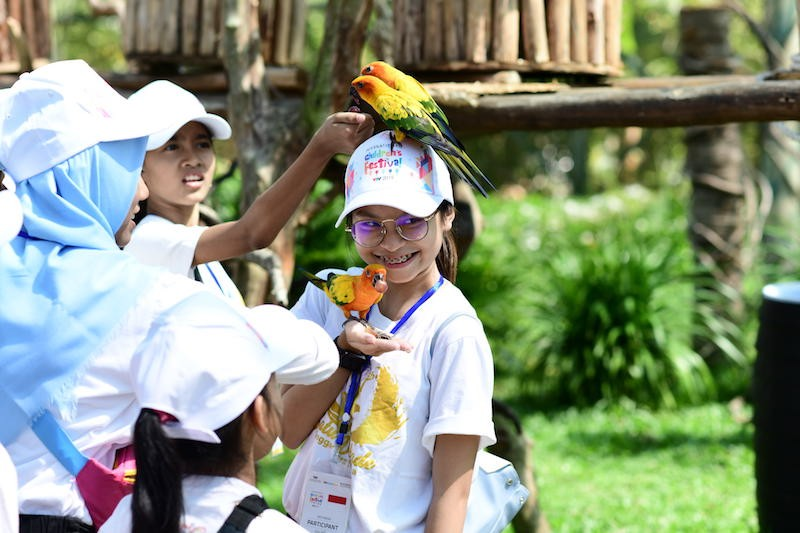 Thieu nhi Quoc te hao huc kham pha Vinpearl Nam Hoi An-Hinh-11