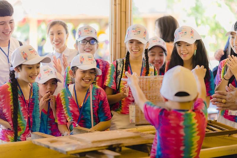 Thieu nhi Quoc te hao huc kham pha Vinpearl Nam Hoi An-Hinh-8