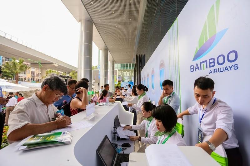 Chen chan mua ve 599k bay ngay thang 6 tai Bamboo Airways Tower 265 Cau Giay-Hinh-3