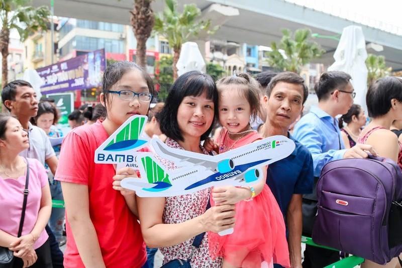 Chen chan mua ve 599k bay ngay thang 6 tai Bamboo Airways Tower 265 Cau Giay-Hinh-6