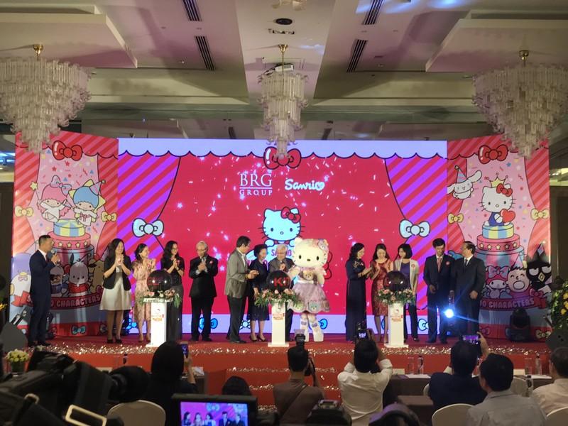 Tap doan BRG trien khai du an Sanrio Hello Kitty World Hanoi by BRG