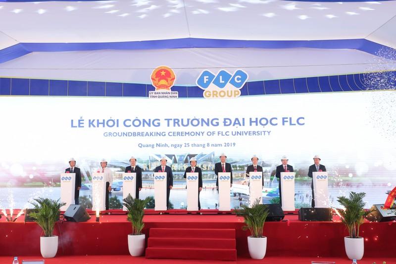 Tap doan FLC khoi cong Do thi Dai hoc quy mo hon 700 ha tai Quang Ninh
