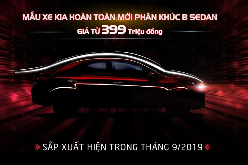 Kia Viet Nam chinh thuc nhan dat hang mau xe hoan toan moi phan khuc B-Sedan gia chi tu 399 trieu dong