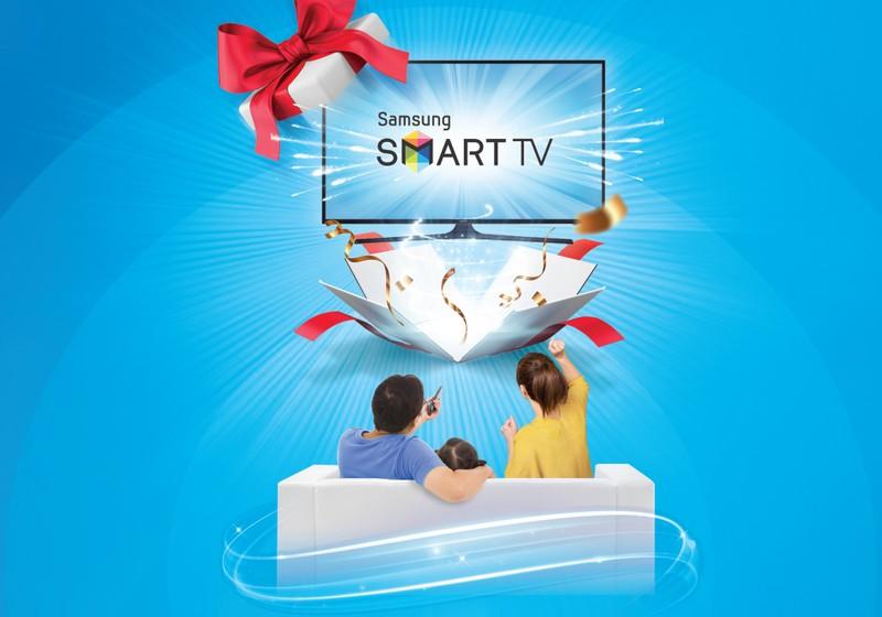 VNPT tang tivi SAMSUNG cho khach hang dang ky truyen hinh MyTV
