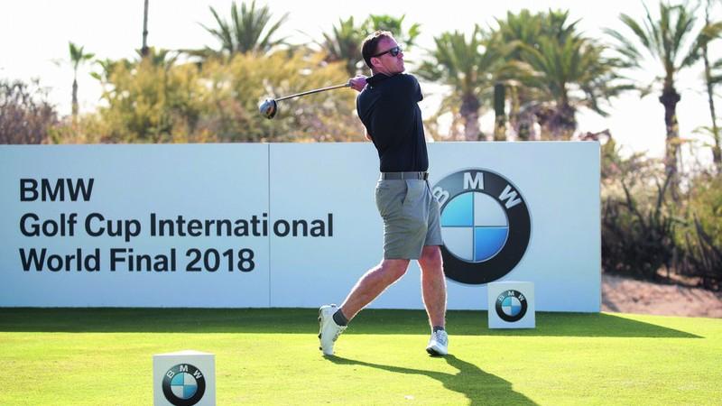Tro thanh nguoi Viet Nam dau tien tham gia giai golf BMW toan cau