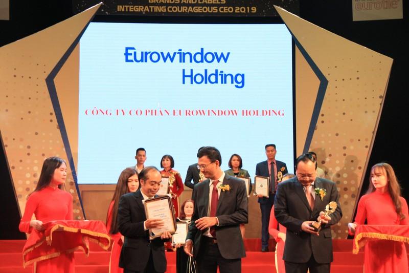 Eurowindow Holding dat Danh hieu Top 10 Thuong hieu, Nhan hieu danh tieng Viet Nam 2019-Hinh-2