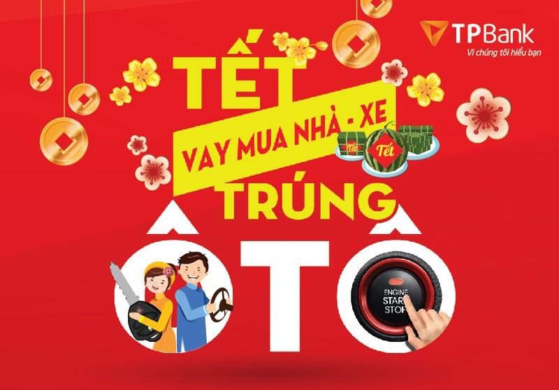 Nha dep – Xe sang – Ngap tran qua tang don Tet cung TPBank