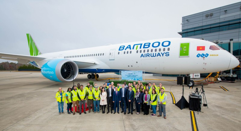 Bamboo Airways dua vao khai thac may bay than rong
