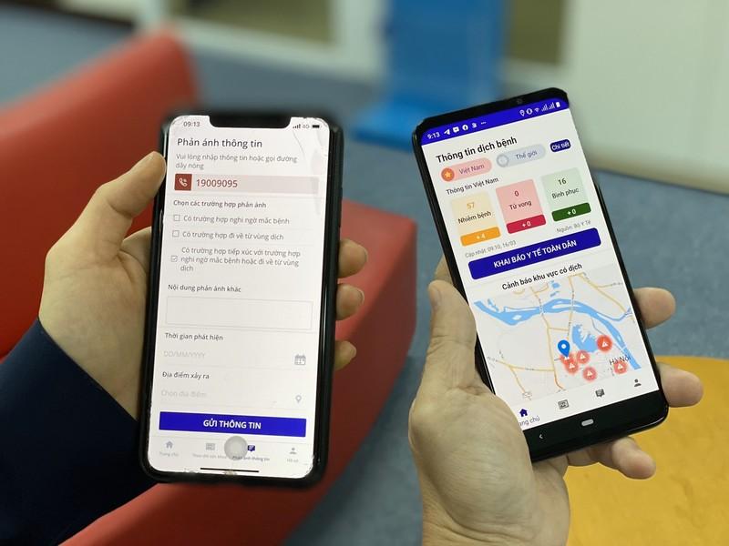 VinaPhone mien phi 3G/4G truy cap app NCOVI ho tro khai bao y te