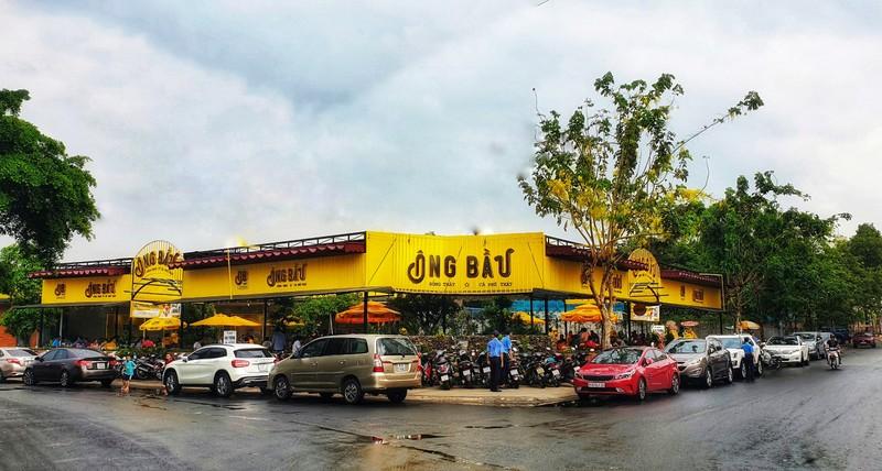 Chuoi ca phe Ong Bau mo quan lon nhat tai Binh Duong