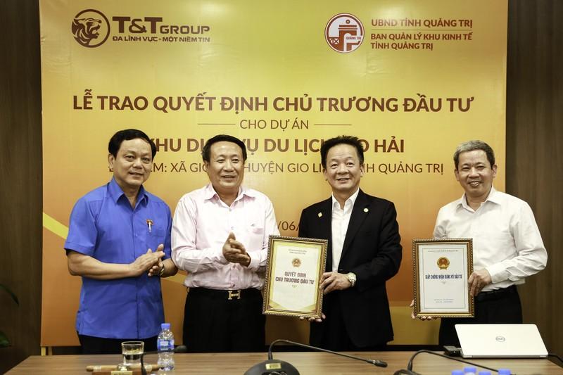 T&T Group dau tu 1.650 ty khu dich vu - du lich tai Quang Tri