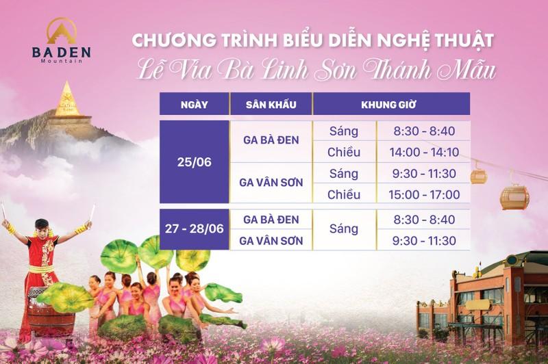 Tay Ninh don le hoi Via Ba voi nhieu hoat dong hap dan-Hinh-9