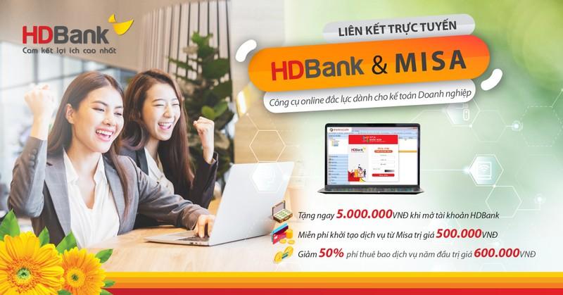 HDBank ket hop cung MISA trien khai dich vu ke toan online-Hinh-3