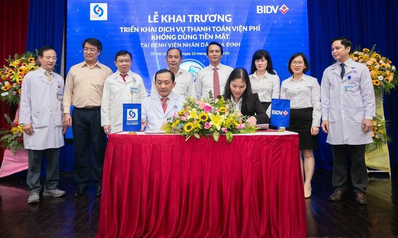 BIDV va BV Nhan dan Gia Dinh trien khai thanh toan vien phi khong tien mat-Hinh-3