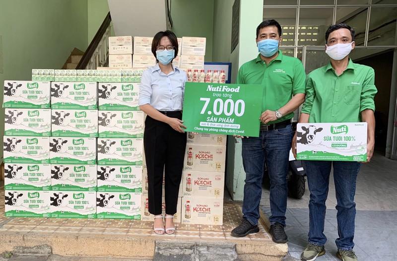 NutiFood tang 7.000 san pham cho 3 benh vien tai Da Nang
