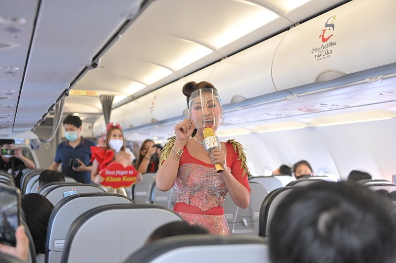 Vietjet Thai Lan khai truong duong bay Bangkok – Khon Kaen-Hinh-4