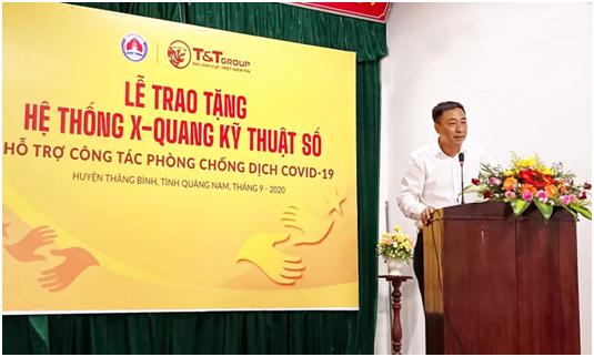 T&T Group trao he thong X-Quang ho tro Quang Nam chong COVID-19-Hinh-2