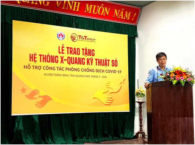 T&T Group trao he thong X-Quang ho tro Quang Nam chong COVID-19-Hinh-3