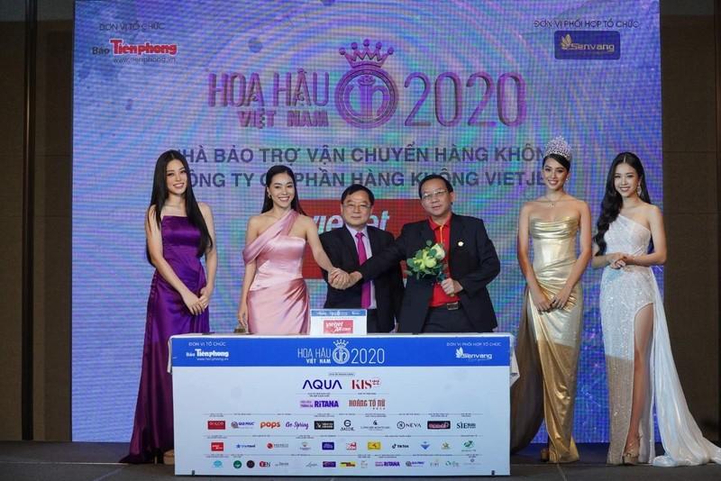"""Vietjet dong hanh cung Hoa hau Viet Nam 2020 ghi dau """"Thap ky huong sac"""""""