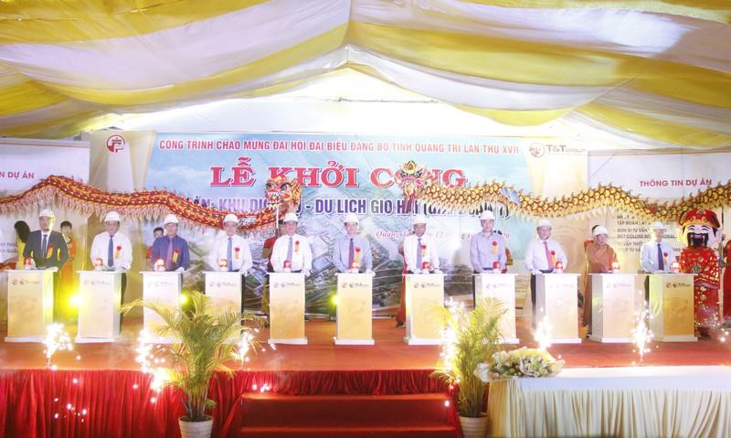 T&T Group khoi cong du an Khu dich vu - du lich gan 4.500 ty tai Quang Tri