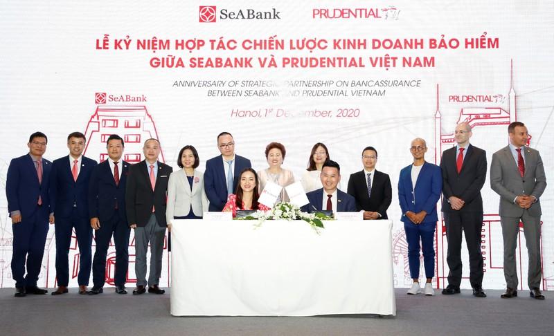 Prudential Viet Nam va SeABank