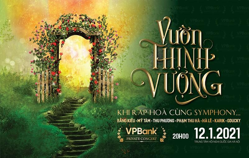 """VPBank to chuc dai nhac hoi """"Vuon Thinh Vuong"""" tri an khach hang cuoi nam"""