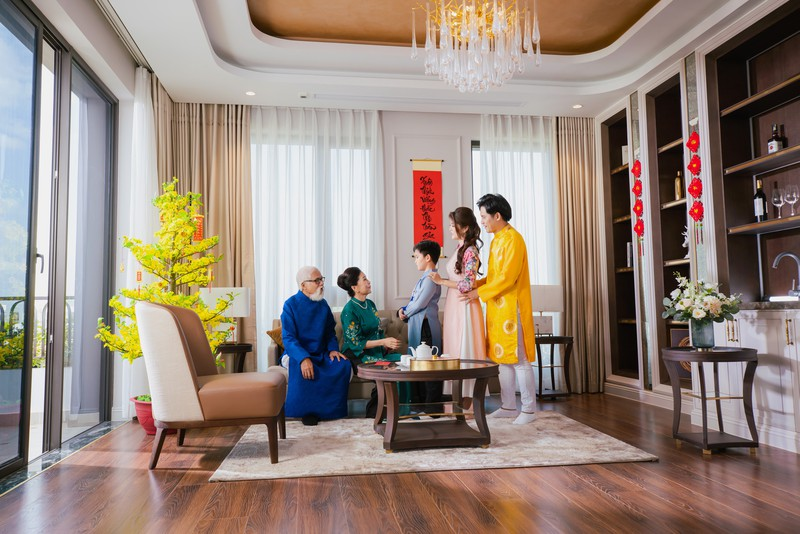 NSND Kim Xuan: 'Gia dinh toi da don mot cai Tet an lanh'-Hinh-2