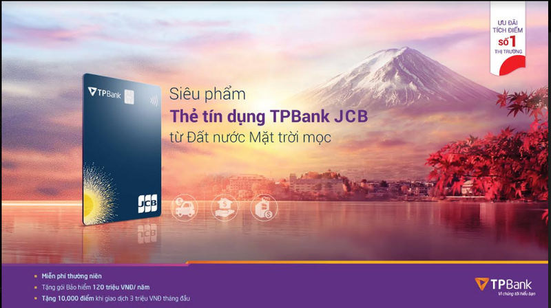 """San """"deal"""" sieu hap dan voi the tin dung quoc te TPBank JCB"""
