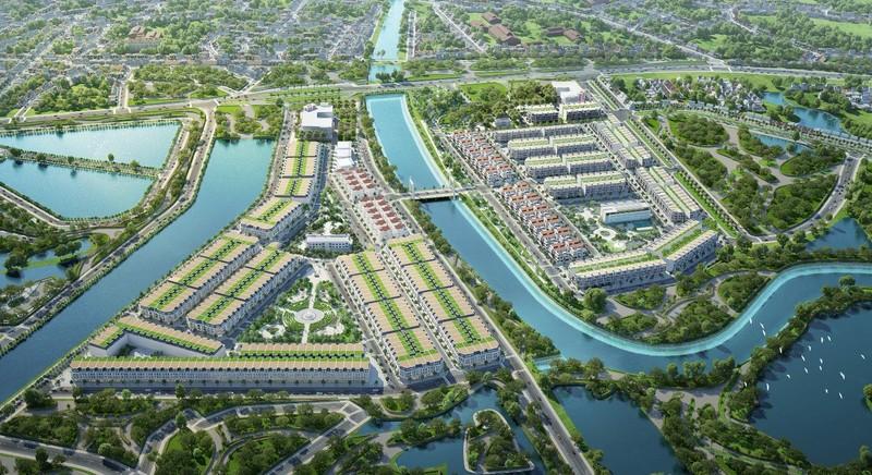 TNR Grand Palace River Park: Tieu diem phon hoa, thinh vuong tai Quang Ninh