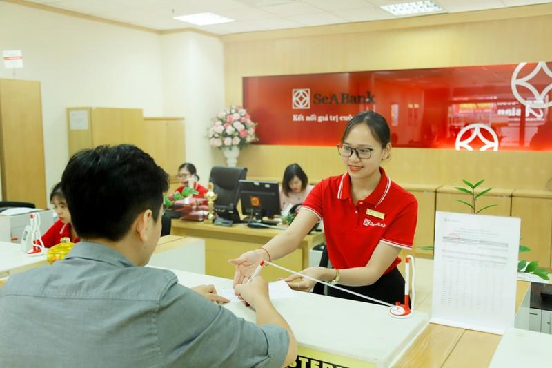 Loi nhuan truoc thue quy 1/2021 cua Seabank dat 698,3 ty dong
