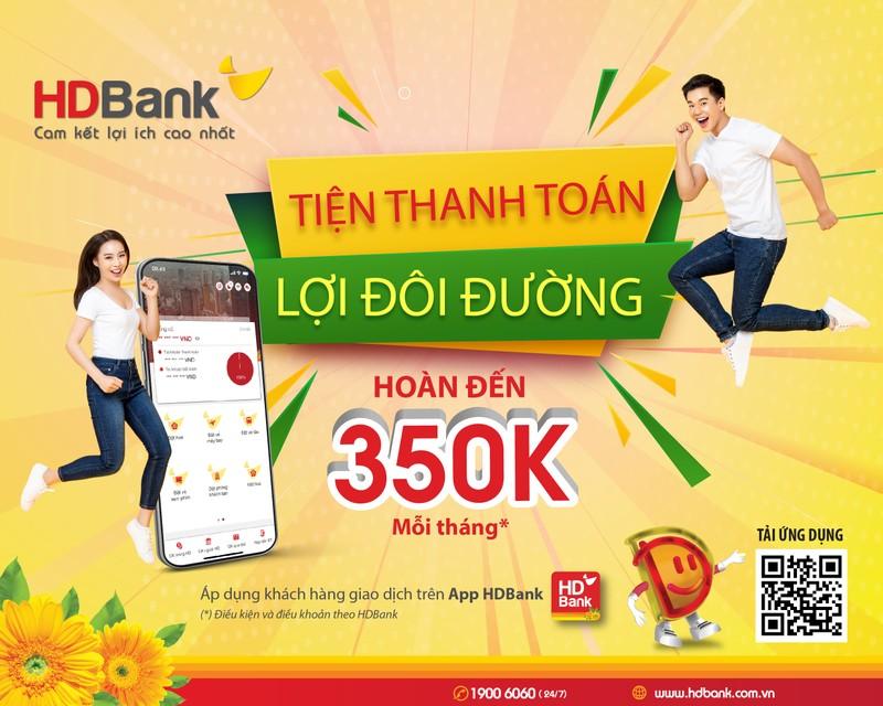 HDBank trien khai nhieu chuong trinh uu dai phuc vu Khach hang so