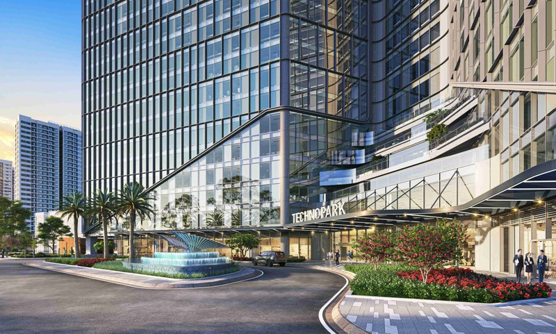 Thiet ke xanh ben vung, TechnoPark Tower chinh phuc cong dong doanh nghiep cong nghe-Hinh-3