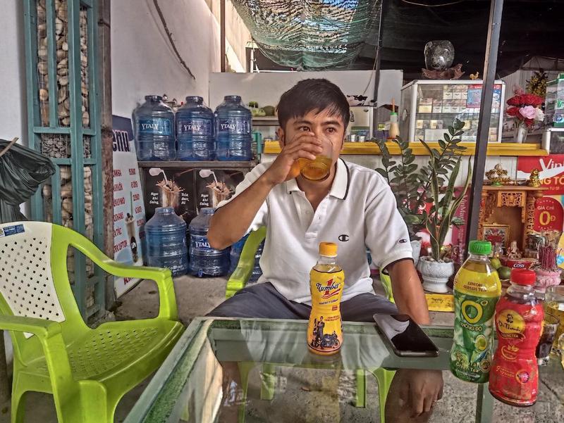 "Tho dien trung 100 trieu khi uong Number 1: ""Danh tien dieu tri benh cho ba""-Hinh-3"