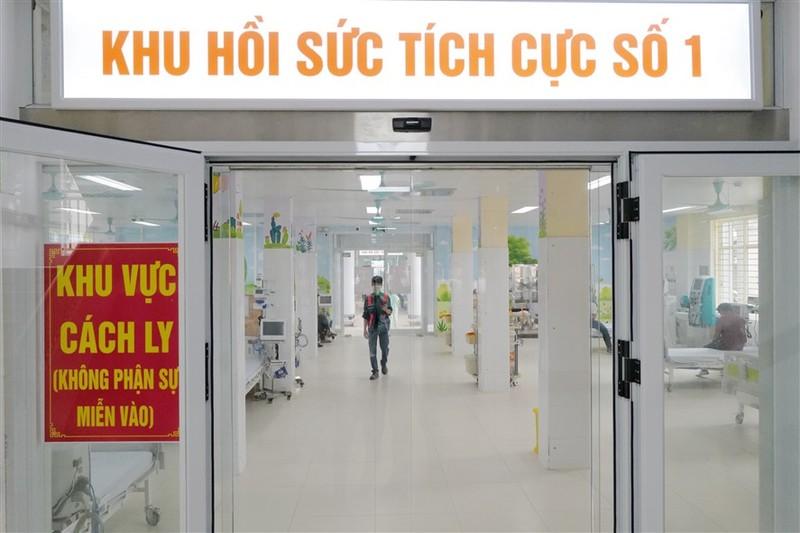Them mot Trung tam ICU dieu tri benh nhan Covid-19 nang di vao van hanh-Hinh-2