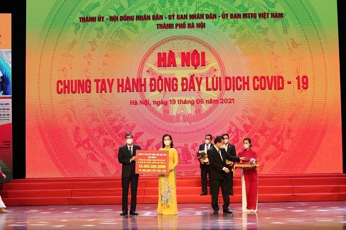Sun Group ung ho thanh pho Ha Noi 55 ty mua vac-xin phong chong Covid-19-Hinh-4