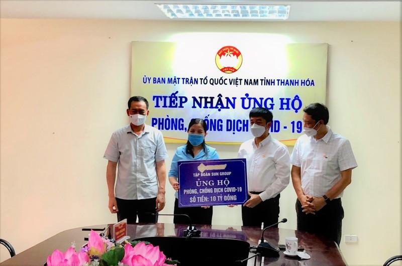 Sun Group ung ho Thanh Hoa 10 ty dong phong chong dich Covid-19-Hinh-2
