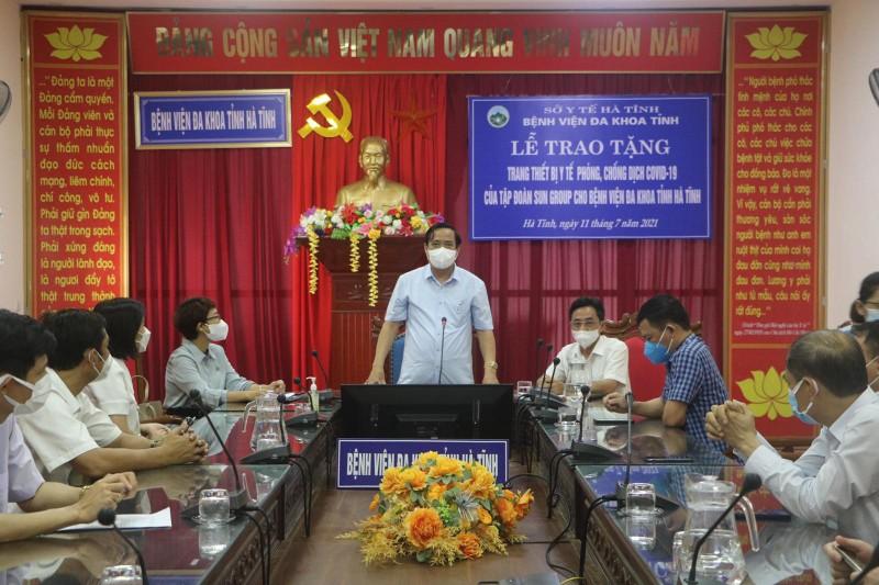 Sun Group tang Ha Tinh TBYT phong chong dich COVID-19 tri gia hon 31 ty-Hinh-5