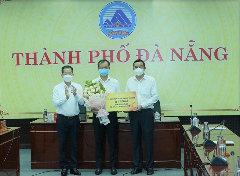 Sun Group ho tro nguoi ngheo tai Da Nang trong thoi gian gian cach