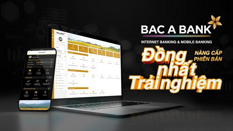 BAC A BANK chinh thuc ra mat Internet Banking va Mobile Banking phien ban moi