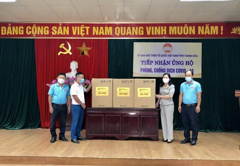 T&T Group tang 50.000 bo kit xet nghiem nhanh cho Thanh Hoa va Kien Giang-Hinh-2