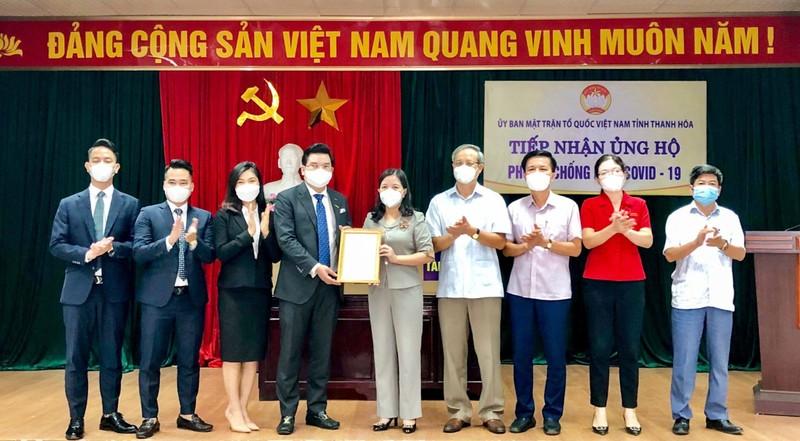 Xe cuu thuong va kit test Covid-19 duoc Danko Group trao tang Thanh Hoa-Hinh-3