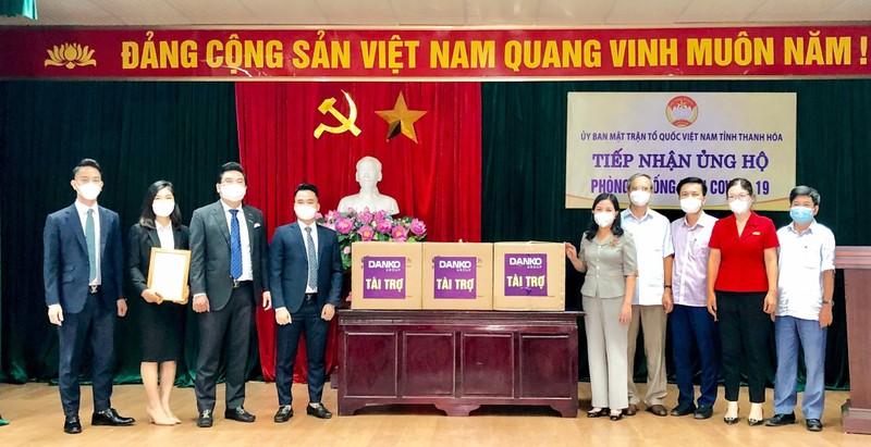 Xe cuu thuong va kit test Covid-19 duoc Danko Group trao tang Thanh Hoa-Hinh-4