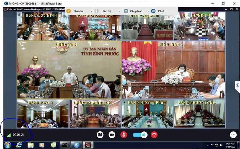 VNPT trien khai hoi nghi truc tuyen phuc vu le ky niem Quoc khanh 2/9