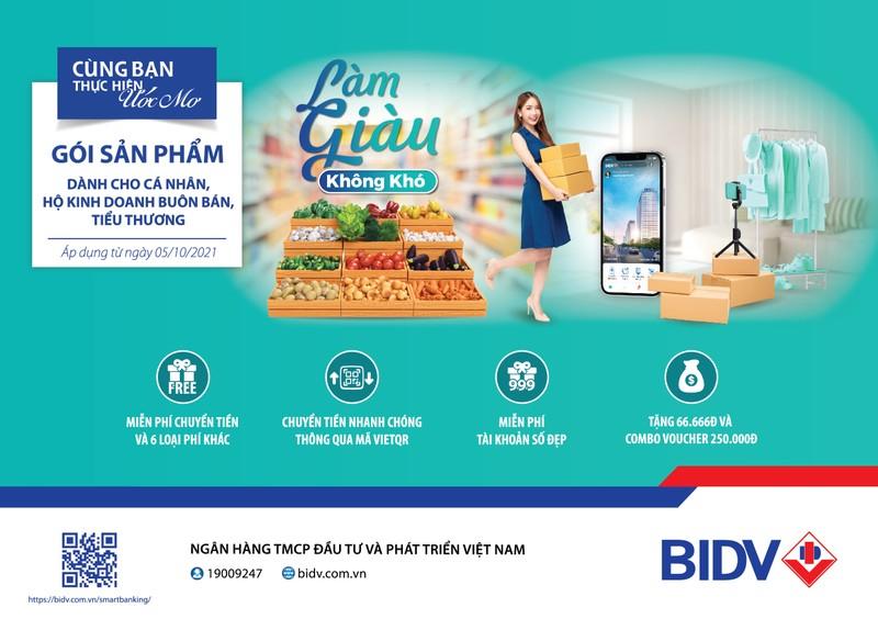 BIDV ra mat goi san pham toan dien danh rieng cho khach hang tieu thuong