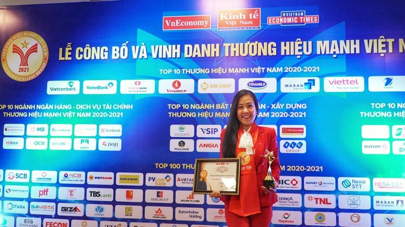 Techcombank duoc vinh danh top 10 thuong hieu manh Viet Nam 2021-Hinh-2