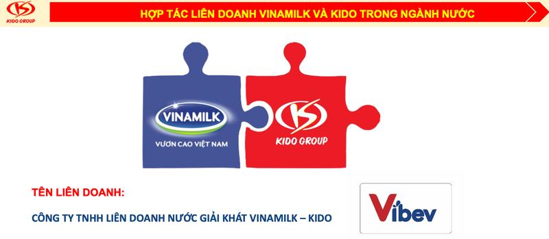 Vinamilk bat tay KIDO lap lien doanh nuoc giai khat – kem