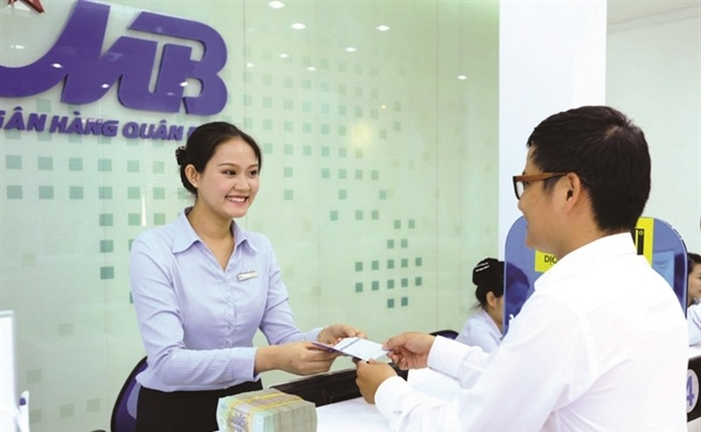 Tien gui khach hang cua MBB tang truong am, no xau lai tang cao